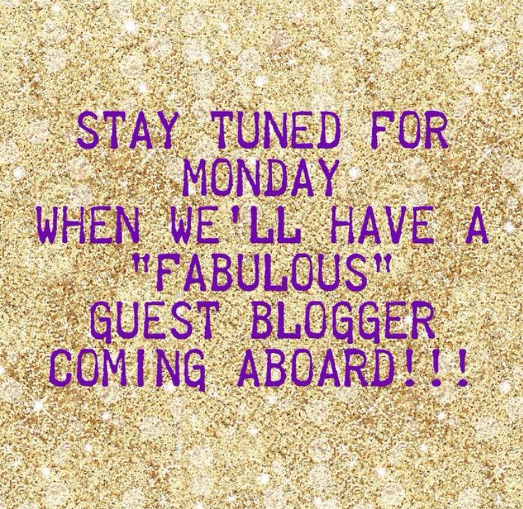 Guest Blogger!!!